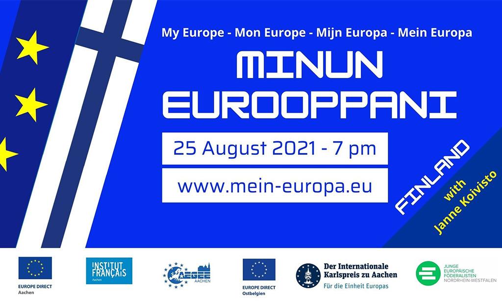 """Veranstaltungsreihe """"Mein Europa"""" geht in die vierte Runde!"""